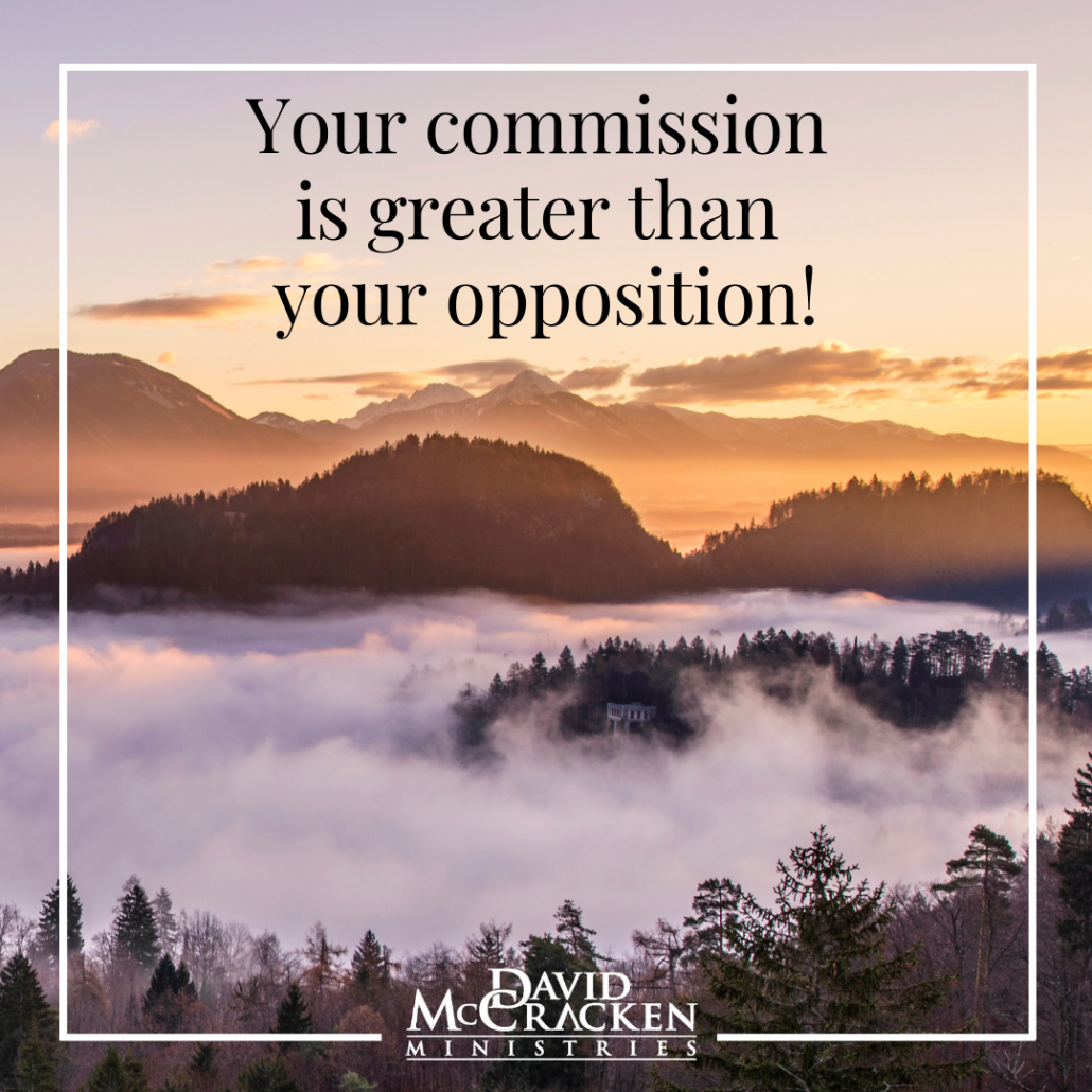 Your commission is greater than your opposition